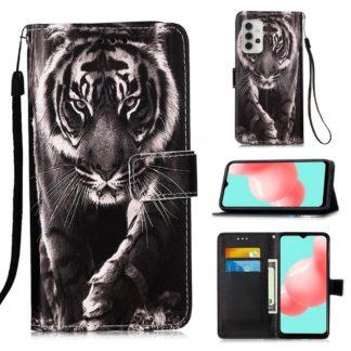 Plånboksfodral Samsung Galaxy A32 5G – Tiger