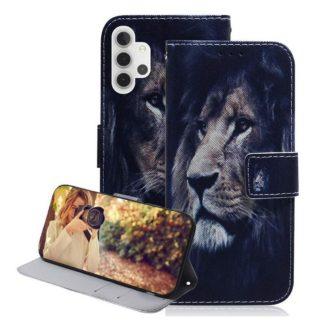 Plånboksfodral Samsung Galaxy A32 5G – Lejon