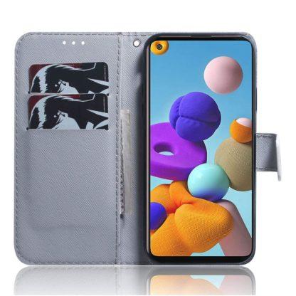 Plånboksfodral Xiaomi Mi 11 – Vit Tiger
