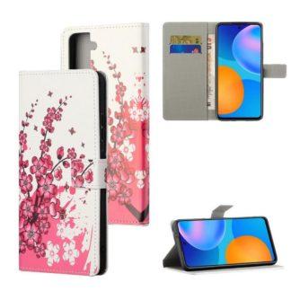 Plånboksfodral Samsung Galaxy S21 - Körsbärsblommor