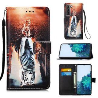 Plånboksfodral Samsung Galaxy S21 Plus – Reflektion