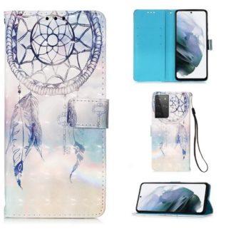 Plånboksfodral Samsung Galaxy S21 Ultra – Drömfångare Himmel