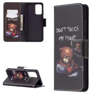 Plånboksfodral Samsung Galaxy A72 - Don't Touch My Phone