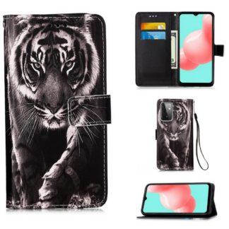 Plånboksfodral Samsung Galaxy A72 – Tiger
