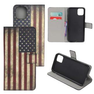 Plånboksfodral Xiaomi Mi 11 Lite - Flagga USA