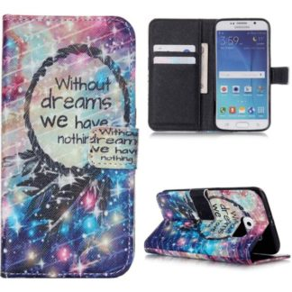 Plånboksfodral Samsung S6 – Without Dreams We Have Nothing