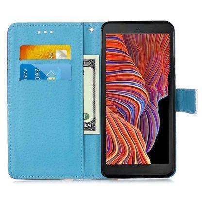 Plånboksfodral Samsung Galaxy XCover 5 – Blå Mandala