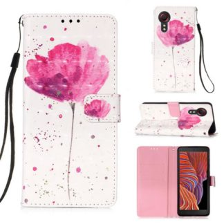 Plånboksfodral Samsung Galaxy XCover 5 – Rosa Blomma