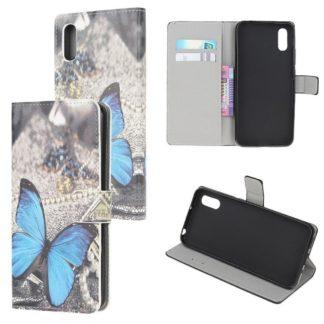 Plånboksfodral Samsung Galaxy XCover 5 - Blå Fjäril
